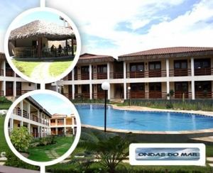 Pousada Hotel Taiba Ondas do Mar Residence Compras Coletivas Fortaleza Desconto Coletivo oferta em promocao  no Barato de Fortaleza Compras Coletivas