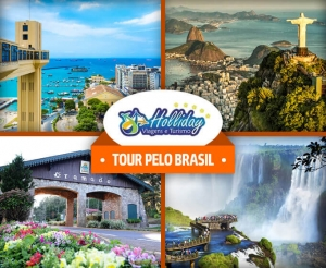 compras coletivas oferta com desconto em pacote de viagens para tour pelo brasil com a holliday turismo transporte e hospedagem no barato de fortaleza