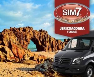 compras coletivas oferta com desconto em pacote de viagem para jericoacoara com a sim7 turismo hospedagem cafe da manha transporte passeios barato de fortaleza