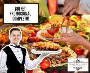 compras coletivas oferta com desconto em buffet movel completo para ate 50 pessoas com bebidas almoco ou jantar material e serviço no barato de fortaleza