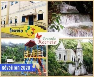 compras coletivas oferta de reveillon 2020 com desconto em hospedagem cafe da manha e ceia na pousada recreio em pacoti no site barato de fortaleza