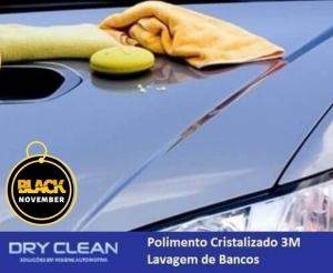 polimento cristalizado e lavagem interna automotiva com desconto na dry clean em oferta no barato de fortaleza compras coletivas