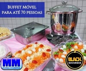 compras coletivas oferta com desconto black november buffet movel com mm festas e eventos completo almoco ou jantar no barato de fortaleza