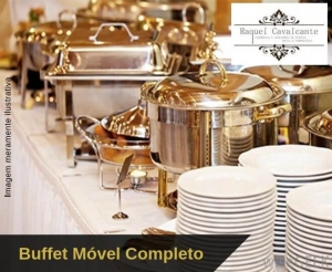 compras coletivas em oferta de buffet movel promocional da raquel cavalcante com entrada almoco jantar bebidas material serviço com desconto no barato fortaleza
