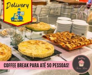 compras coletivas oferta com desconto coffee break simples completo do buffet festa kids paezinhos empadao salgados de forno e fritos suco barato fortaleza