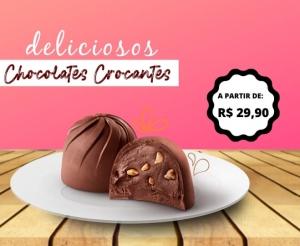 Chocolates Finos Eventos U&V oferta com Desconto Barato de Fortaleza Compras Coletivas