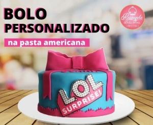 compras coletivas oferta com desconto em bolo personalizado na pasta americana com cupcakes da rosangela bolos finos no barato de fortaleza