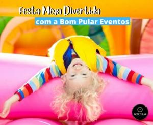 Festa Infantil com Brinquedos Oferta com Desconto da Bom Pular Eventos no Barato de Fortaleza Compras Coletivas