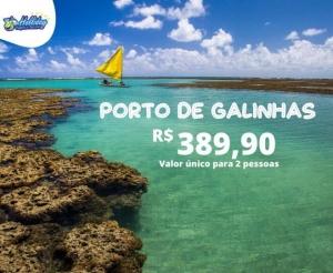 Pacote Viagem Porto de Galinhas da Holliday Viagens Turismo Hotel desconto em oferta compras coletivas