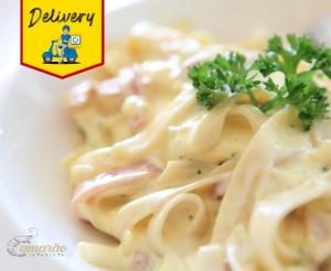 Espaguete com Frango ou Camarao no Camarao da Varjota Oferta com Desconto Delivery Compras Coletivas