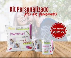 Dia dos Namorados Caneca Personalizada e Almofada no Barato de Fortaleza oferta com desconto Compras Coletivas