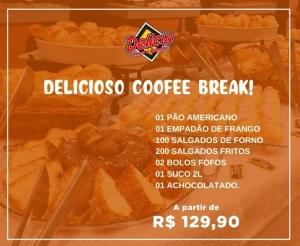 Coffee Break Simples a Tarde Evento Empresas e Confraternizacao Oferta com Desconto Compras Coletivas