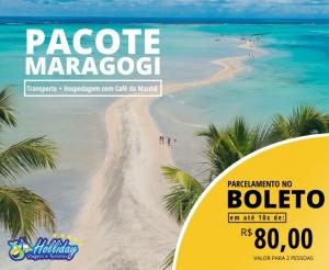 Pacote de Viagens Completo Maragogi Alagoas Caribe Brasileiro Oferta com Desconto Holliday Viagens Compras Coletivas