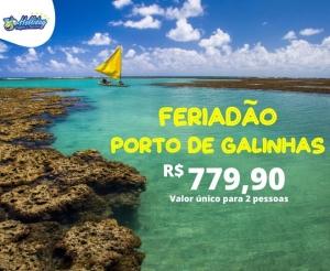 Pacote Viagem Porto de Galinhas holliday viagens fortaleza oferta com desconto