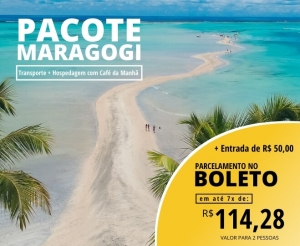 Pacote de Viagens Holliday Viagens para Maragogi Alagoas Caribe Brasileiro Desconto Imperdivel Compra Coletiva