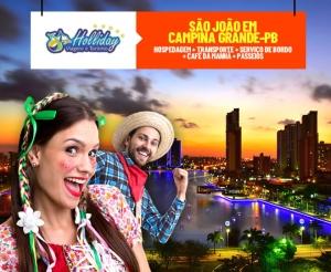 Pacote de viagem para Sao Joao de Campina Grande com a Holliday Viagens oferta com desconto Barato de Fortaleza Compras Coletivas