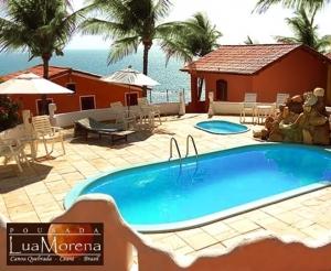 hospedagem oferta Pousada Hotel Canoa Quebrada Lua Morena Compras Coletivas Fortaleza em promocao com desconto coletivo no barato de fortaleza