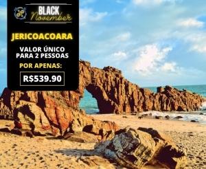 Black November Pacote de Viagem Completo Jericoacoara Oferta com Desconto Barato Fortaleza Compras Coletivas