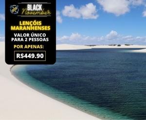 Black November Pacote de Viagem Completo Lencois Maranhenses Oferta com Desconto Barato Compras Coletivas