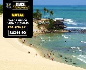 Pacote Viagem Natal RN da Holliday Viagens Turismo Hotel Desconto em Oferta Black November Compras Coletivas