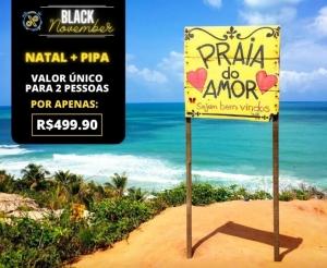 Pacote de Viagem Natal Pipa RN Oferta com Desconto Black November Compras Coletivas