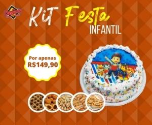 kit festa do delicia doces e salgados desconto em oferta barato de fortaleza compras coletivas