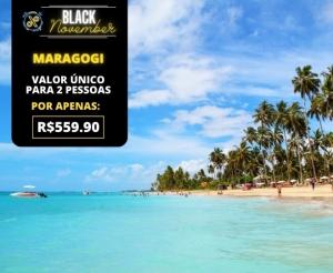 Black November Pacote de Viagem Completo para Maragogi Alagoas Oferta com Desconto Compras Coletivas