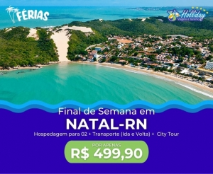 Pacote Viagem Natal RN da Holliday Viagens Turismo Hotel desconto em oferta compras coletivas