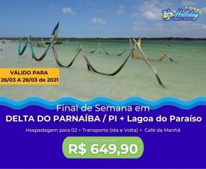 Pacote de Viagem para Delta do Parnaiba PI com a Holliday Viagens e Turismo Desconto Compras Coletivas