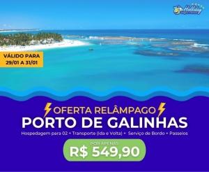 Pacote de Viagem Porto de Galinhas Oferta com Desconto Compras Coletivas