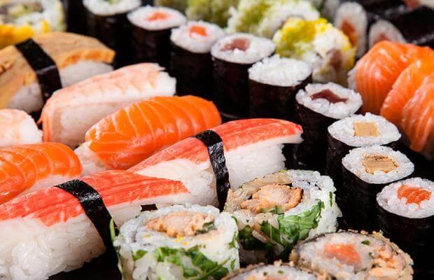 Kung Food - Combinado Sushi 10 peças por apenas R$15,90